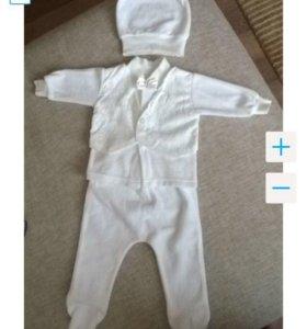 Продам велюровый нарядный костюм (р.62)