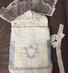 Конверт на выписку для новорождённого Choupette