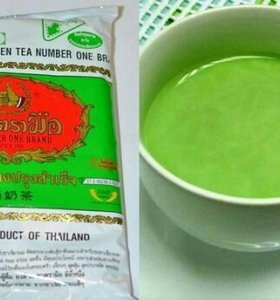 Знаменитый тайский зелёный чай