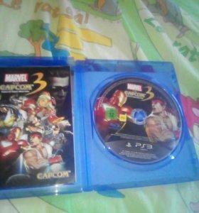 Marve vs Capcom3 на ps3