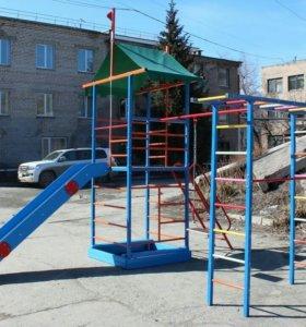 Уличный Детский Спортивный Комплекс ДСК Замок-П