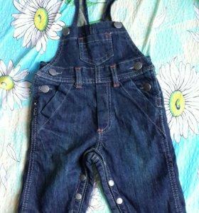 Комбинезон джинсовый для малыша