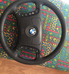 Руль с подогревом BMW e39, X5