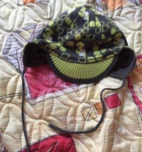 Демисезонная шапка фирмы Керри , размер 44-46
