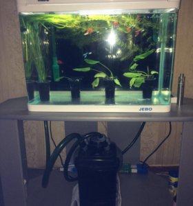 Продам аквариум + внешний фильтр
