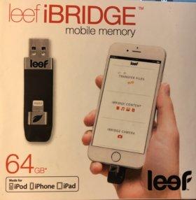Флеш - накопитель USB Flash drive leef iBRIDGE 64