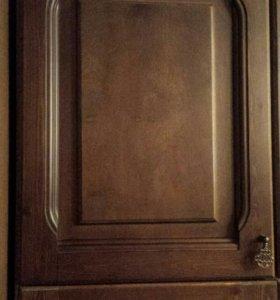Мебельная стенка в гостиную, деревянная,