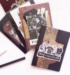 Обложки на паспорт ручной работы
