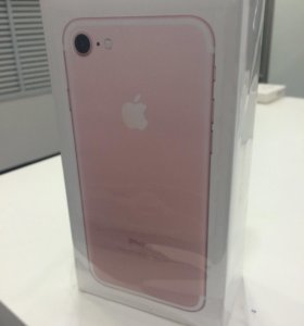 iphone 7 rose gold 128gb новый