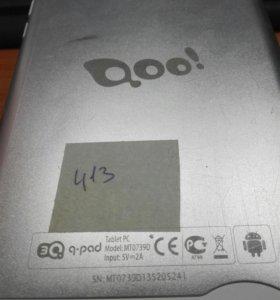 Планшет 3Q Q-pad MT0739D на запчасти
