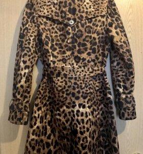 Леопардовый тренч