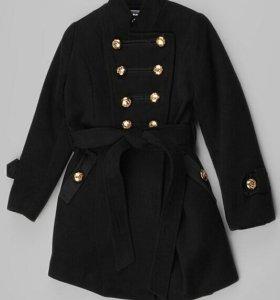 Новое пальто desalitto 158 см
