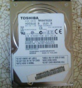 Hdd 2,5 Toshiba 640 gb