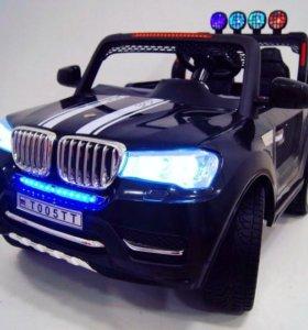 Детский электромобиль bmw t005tt с задним приводом