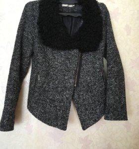 Полупальто-пиджак на подкладке