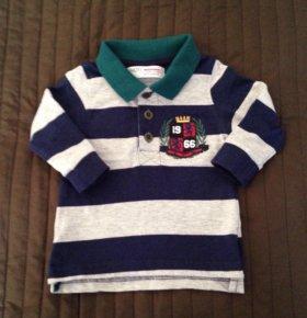 Фирменная футболка р-р 68
