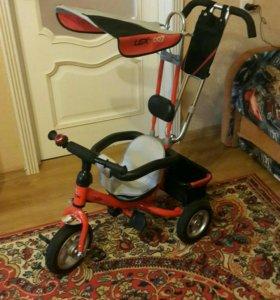 Детский велосипед с надувными колесами СРОЧНО