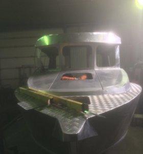 Изготовления алюминиевых катеров