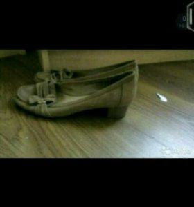 Туфли ,натуральная замша