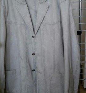 Пиджак лен р.54 рост 176