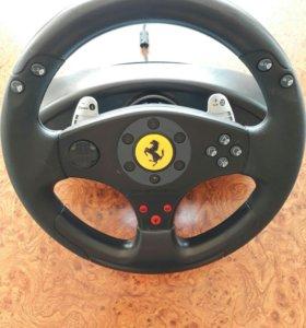 Руль+педали ThrustMaster Ferrari GT 2 in 1