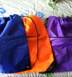 Сумка - рюкзак, для вещей или обуви, новые