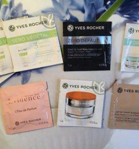 Пробники кремов Yves rocher