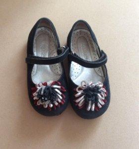 Обувь бу для девочки с 23-25 р