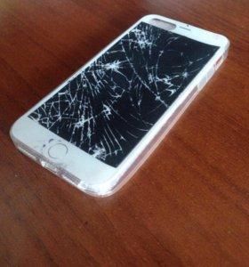Чехол на iPhone 5/5s/SE силиконовый