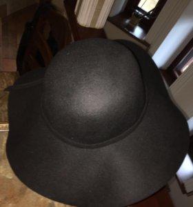 Шляпа женская, фетр