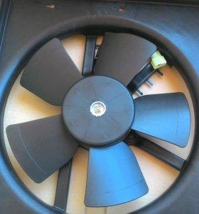 Вентилятор радиатора от нексии