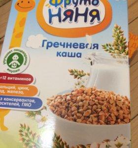 Детское питание: каши, пюре
