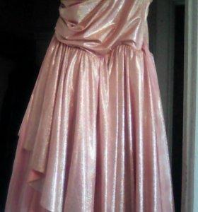 Платье.для принцесс!!!!золотое!!