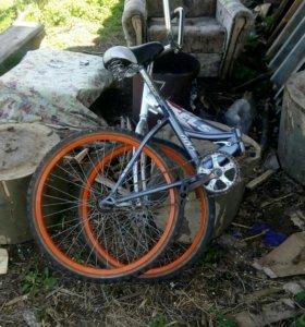 Велосипед stejs расскладной