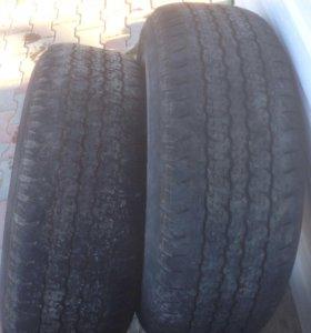 Резина Bridgestone Dueler 265/65/17