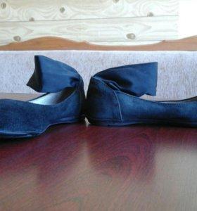Туфли для девочек 33 размер замша