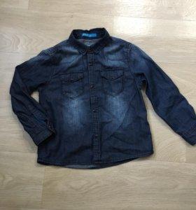 Рубашка джинсовая lefties