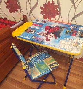 Продам детский столик со стульчиком