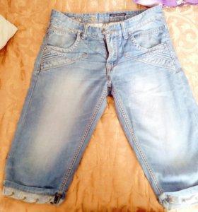 Бриджи мужские джинсовые