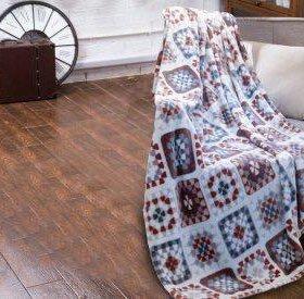 Плед 150х200 см Flannel FA006-1