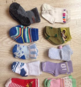 Носочки на младенца