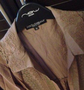 Рубашка разлетайка ( новая ) D&G
