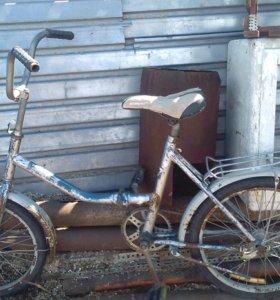 Велосипед, аист