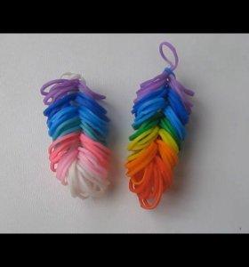 Фигурки из резинок ( резинки для плетения)