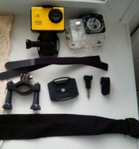 Новая экшен камера SJ4000