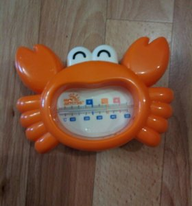 Термометр для воды краб