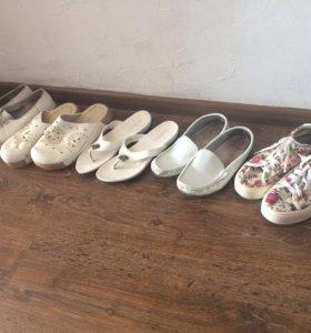 Летняя обувь от200-300₽