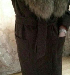 Зимнее новое пальто