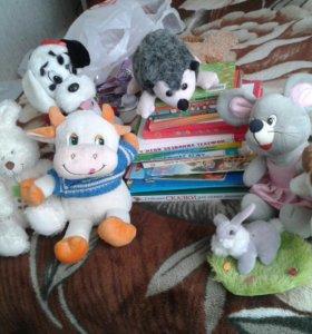 Детские книжки и игрушки