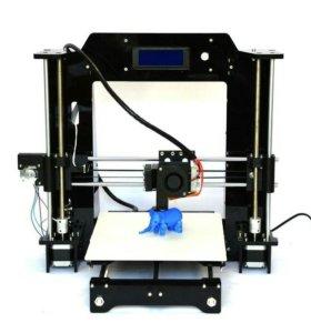 Новый 3д (3d) принтер Prusa i3